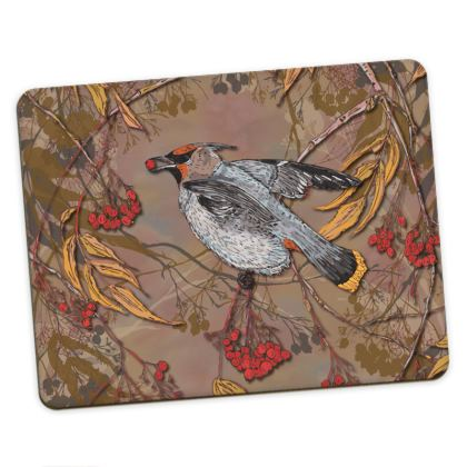 Waxwing Placemats