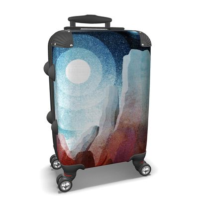 Suitcase - A rocky world