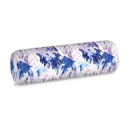 Painterly Bolster Cushion