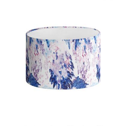 Abstract Printed Drum Lamp Shade