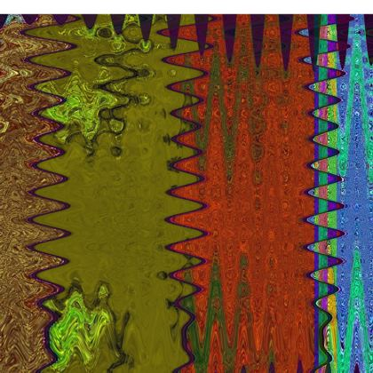 Green and Brown Slim Fit Mens T-Shirt.   © Copyright Joanne Shaw.  All rights reserved.