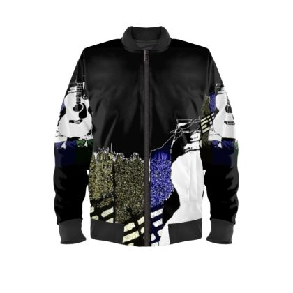 Ladies Bomber Jacket (also carry men's same)  © Copyright Joanne Shaw.  All rights reserved.
