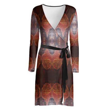 Buddha Wrap Dress