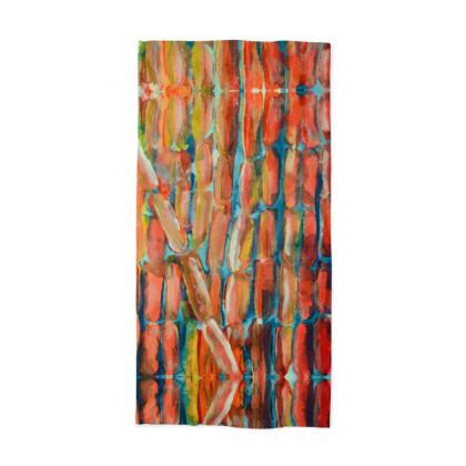 Living Coral Sweet Sugarcane Neck Tube Scarf