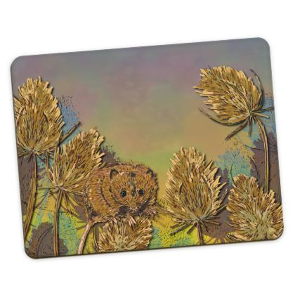 Harvest Mouse & Teasels Placemats