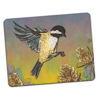 Blue Tit & Coal Tit Placemats Set