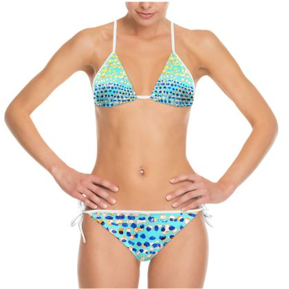 Textural Collection multicolored Bikini