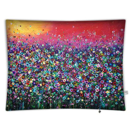 Floor cushion: My Father's Garden