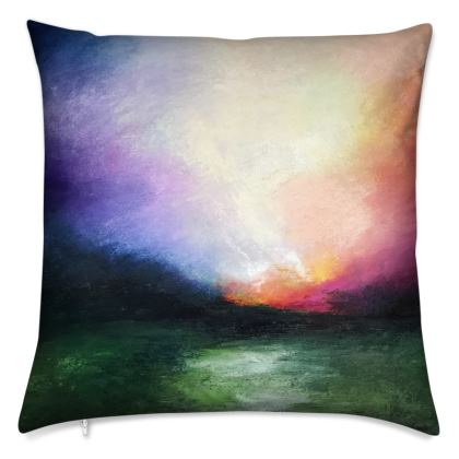 Cushion: Atmospheric Landscapes I