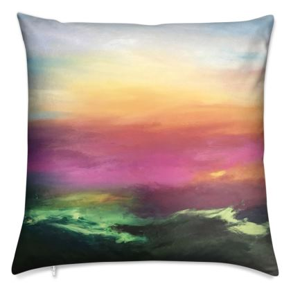 Cushion: Atmospheric Landscapes III