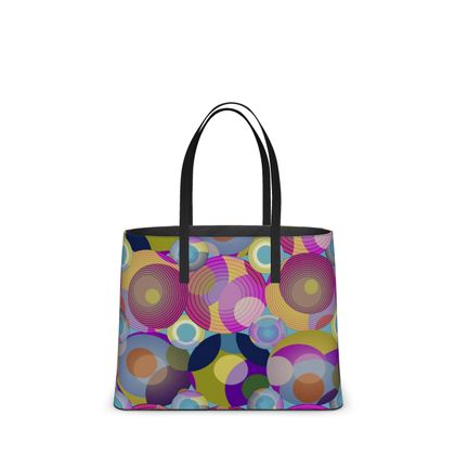Moon Collection on blue Kika Tote