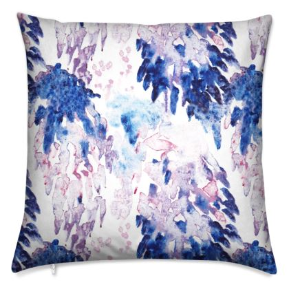 Painterly Square Cushion