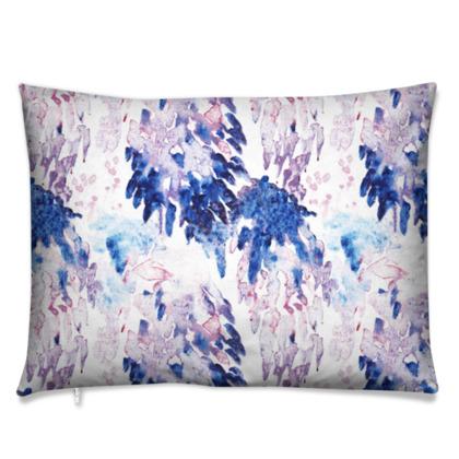 Painterly Retangle Cushion