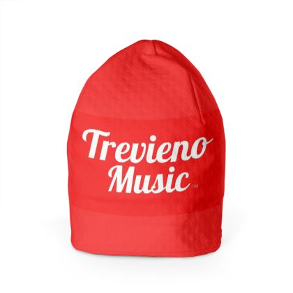 Trevieno Music Red 1 Beanie