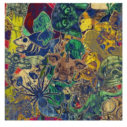 Girls Leggings Color Stickers