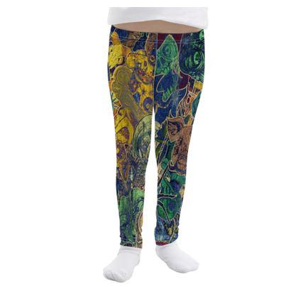 Girls Leggings Color Stickers