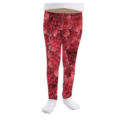 Girls Leggings Pink