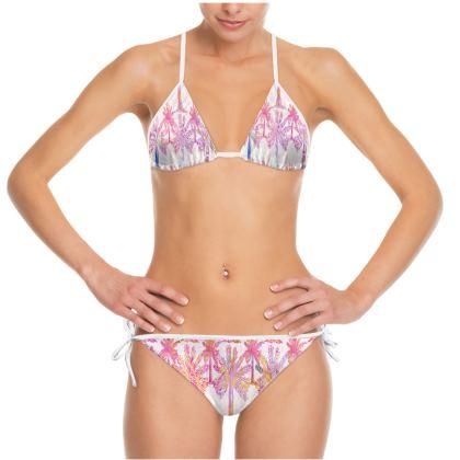 Oasis Collection in magenta Bikini