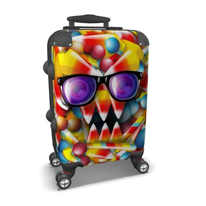 Suitcase Candy Monster