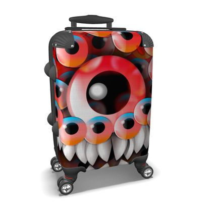 Suitcase Eyeball Monster