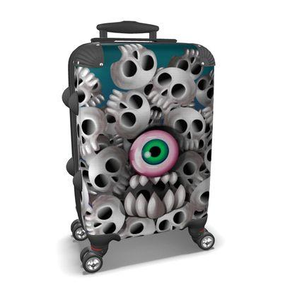 Suitcase Skull Monster