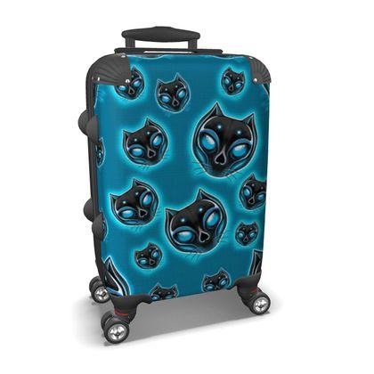 Suitcase Black Cat