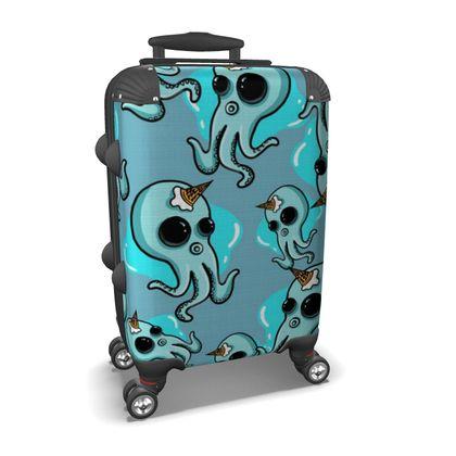 Suitcase Unicorn Octopus