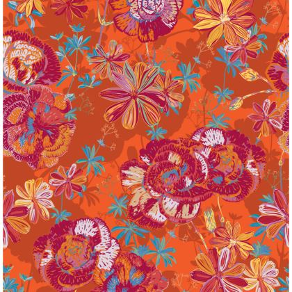 Carnation Carnival Floral Coasters