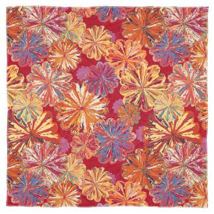 Poppytops Carnival Floral Scarf Wrap or Shawl