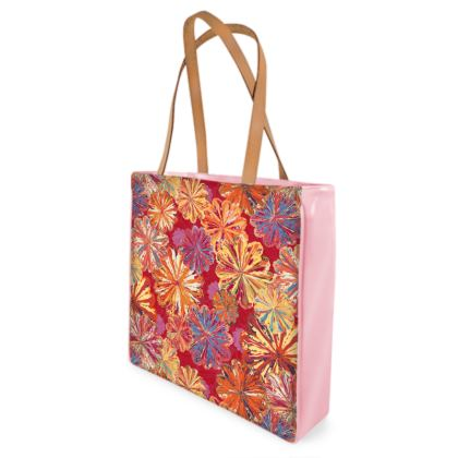 Poppytops Carnival Floral Shopper Bag