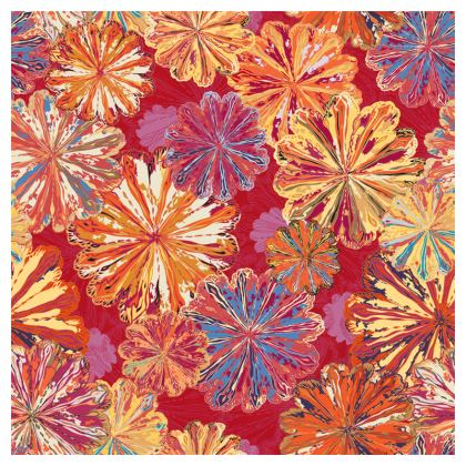 Poppytops Carnival Floral Coasters