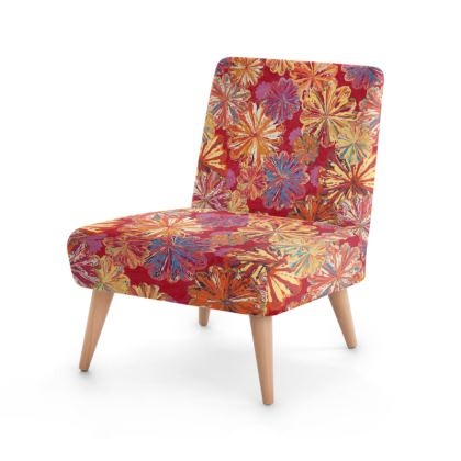 Poppytops Carnival Floral Occasional Chair