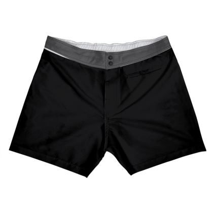 Black Board Shorts.  Copyright 2019 Joanne Shaw.  All rights reserved.