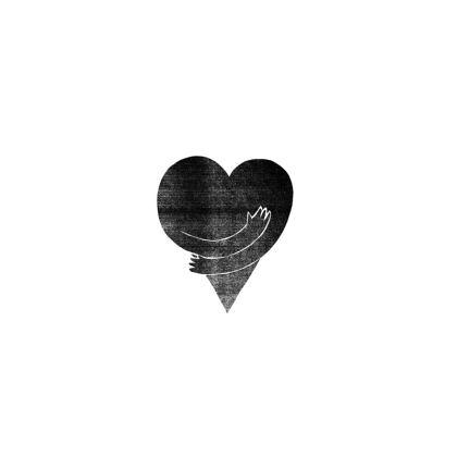 'LOVE' Clutch Bag