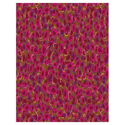 Pink & Red Circles Tray