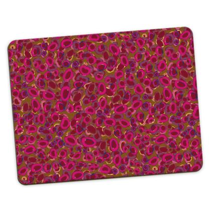 Pink & Red Circles Placemats