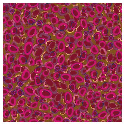 Pink & Red Circles Coasters