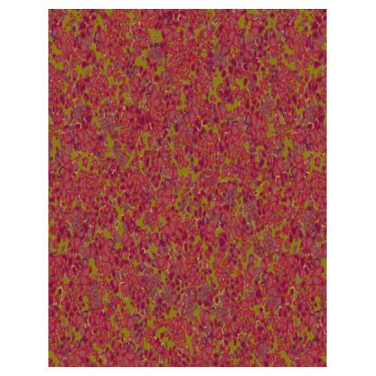 Tiny Circles Red & Green Tray
