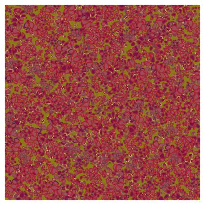 Tiny Circles Red & Green Coasters