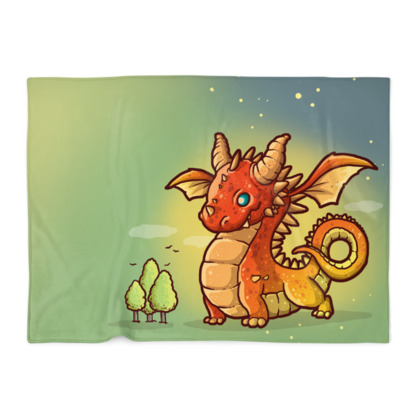 Red Dragon Blanket