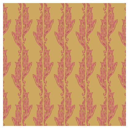Tropical Geo Wave Cushions