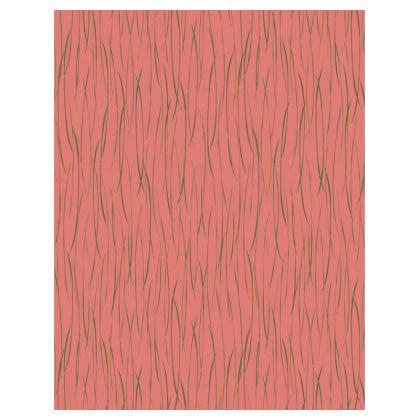 Coral Stripe Tray