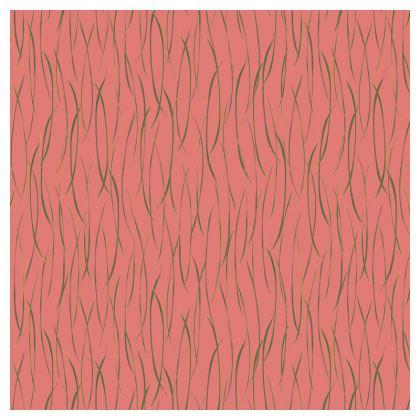 Coral Stripe Cushions