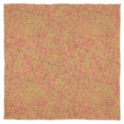 Tropical Geometrics Scarf Wrap or Shawl