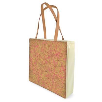 Tropical Geometrics Shopper Bags