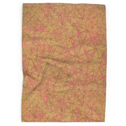 Tropical Geometrics Tea Towels