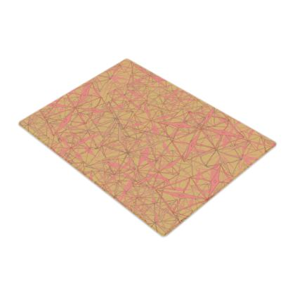 Tropical Geometrics Glass Chopping Board