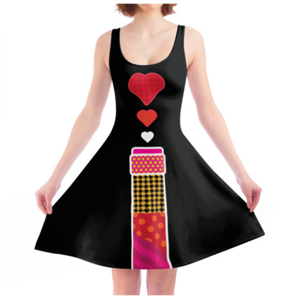 THE BREWERY OF LOVE, Skater Dress