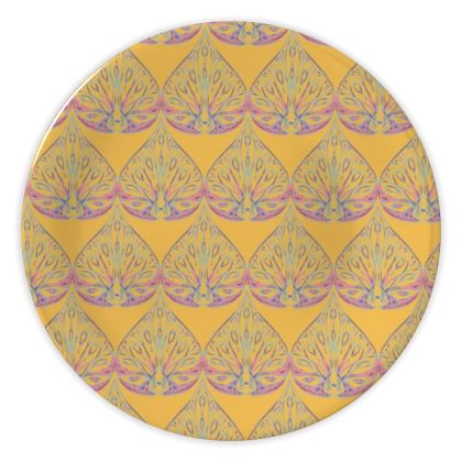Art Deco (Yellow) China Plate