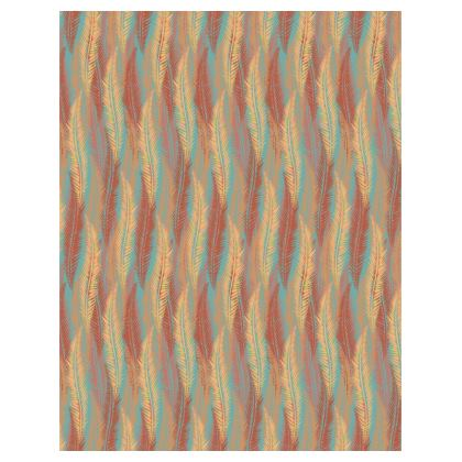 Feathers Stripe (Soft Coral) Tray